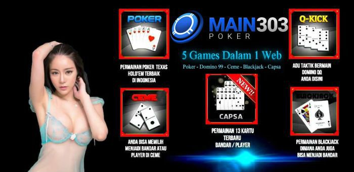 Game Poker Online Main303poker